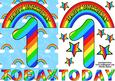 One Today Rainbows A5
