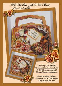 No One Could Ever Fill Your Shoes - Bag & Card Kit