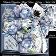 Perfect Porcelain Floral Dress - Edgy - Mini Kit