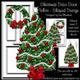 Christmas Deco Door White
