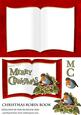 Christmas Robin Book Card Front