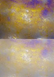 Duel - Shimmering Metallic Backing Paper - Gold Mist