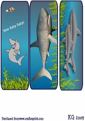 Shark Bookmarks