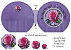 Sugar Plum Rose Pyramage - a Special Mother