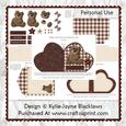 Beary Special - Red - Heart Shaped Fold Card Kit