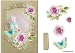 Weddingcake and Roses