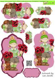Make You Own Bouquet Poppy Boy Doodles