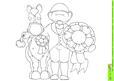 Rosette Doodles Digital Stamp