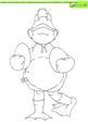 Ducky Doodles Digital Stamp