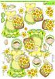 Daffodil Flower Seller Doodles