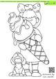 Enough for Two Doodles Digital Stamp