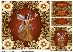 Bronze Fairy Topper