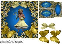 Summer Sweetness Fairy Topper
