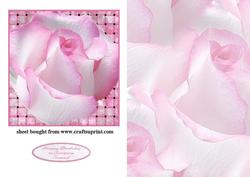Soft Pink Rose Topper