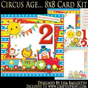 Circus Age - 8x8 Card Mini Kit