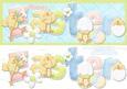 Easter Chicks - Large Dl Card