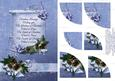 Christmas Blessings - Stunning Xmas Card with Verse