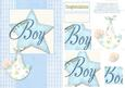 Wish Upon a Star - New Baby Boy Card