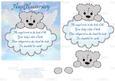 Baby Bear - Angel Anniversary/sympathy Card
