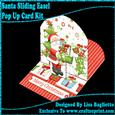 Santa - Sliding Easel Pop Up Card Kit