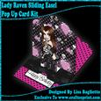 View Lady Raven Sliding Easel Pop Up Card Kit Details