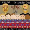 Super Dad Clip Art