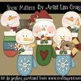 Snow Mittens Clip Art