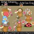 12-spring Garden Clipart