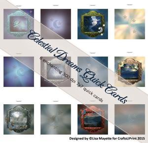 Celestial Dreams Quick Card Kit