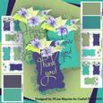 Violet Romance Card Making Kit
