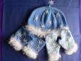 Snowflake Hat & Mitts