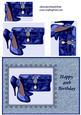 Blue Shoes & Bag - 40th Birthday