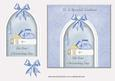View Bootees & Bible Christening Card 2 - Godson Details