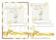 Wedding Scroll Card Front