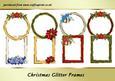 Christmas Glitter Frames