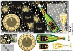 New Year Fold Card