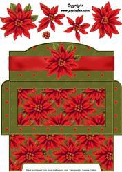 Poinsettia Money Gift Envy