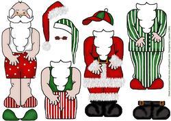 Dress-up Santa
