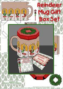 Reindeer Mug Gift Box Set