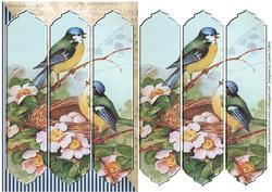 Birdsong Tri-panel Card