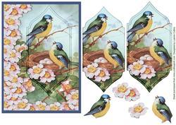 Vintage Birdsong Card Topper