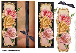 Blooming Roses Card Topper