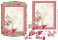 Pretty Peachy Floral Frame Card