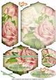 Birthday Rose Bookmark Pocket Card Topper