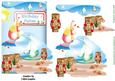 Birthday Fishes Card Topper