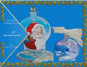 Ho!ho!ho! Christmas Ball Decoration Card Kit