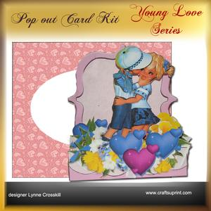 Young Love Series - Pop Out - First Kiss