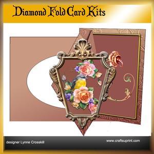 Bird Diamond Front Card Kit