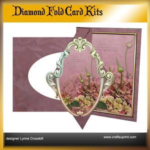 Hydrangea Diamond Front Card Kit