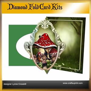 The Clock Diamond Front Card Kit